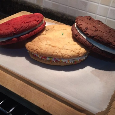 Trio of Giant Oreos!